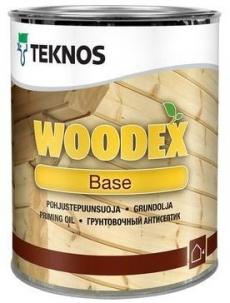 Грунтовочный антисептик TEKNOS WOODEX BASE Бесцветный 1 л