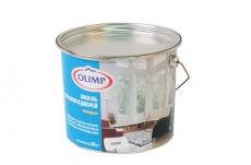 Эмаль алкидная для окон и дверей OLIMP Белая полуматовая 2,7  л