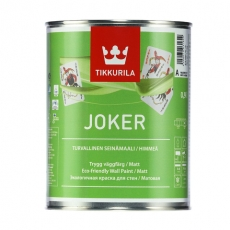 JOKER акрилатная интерьерная краска базис А 0,9л