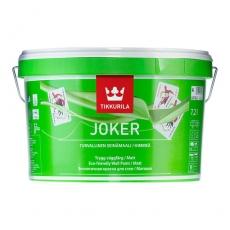 Акрилатная интерьерная краска Тиккурила Джокер JOKER белая 9 л