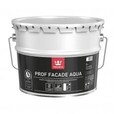 Силикон-модифицированная акриловая фасадная краска Tikkurila Prof Facade Aqua белая MRA,  9 л