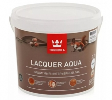 Tikkurila Lacquer Aqua защитный интерьерный лак 9 л