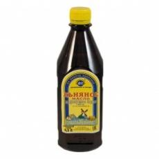Масло льняное пищевое нерафинированное ПЭТ 0,5 л