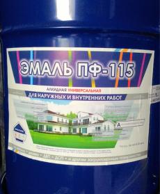 Эмаль ПФ-115 Воронеж  25 кг