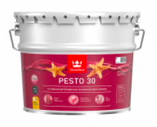Краска алкидная TIKKURILA Euro Pesto 30 Белая полуматовая 9 л