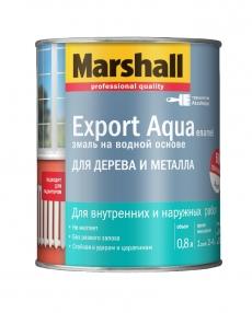 Маршал Экспорт Аква (Marshall Export Aqua Enamel) универсальная эмаль на водной основе полуматовая 2,5 л