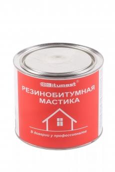 Мастика резинобитумная Bitumast 1,8 л