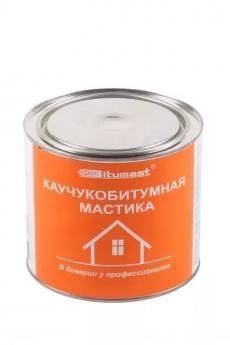 Мастика каучукобитумная Bitumast 1,8 л
