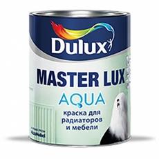 Краска для мебели и радиаторов Dulux Master Lux Aqua 70 Белая глянцевая 1 л