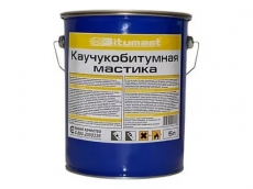 Мастика каучукобитумная Bitumast 18 кг/21,5 л
