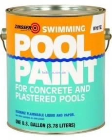 Краска для бассейнов ZINSSER Swimming pool paint Синяя 3,78 л