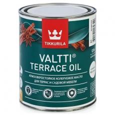Масло для террас и садовой мебели Тиккурила Валтти Террас Ойл (Tikkurila Valtti Terrace oil)  0,8 л