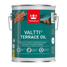 Масло для террас и садовой мебели Тиккурила Валтти Террас Ойл (Tikkurila Valtti Terrace oil),  2,7 л