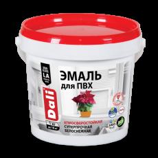 Эмаль для изделий из ПВХ атмосферостойкая белоснежная Dali 1 кг