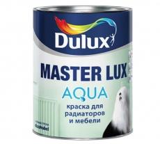 Краска для мебели и радиаторов Dulux Master Lux Aqua 40 Белая полуглянцевая 1 л