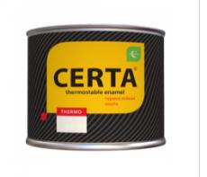 Эмаль термостойкая антикоррозионная Certa (КО-868) Белая 400°С 0,4 кг