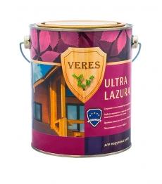 VERES ULTRA LAZURA полуглянцевая лазурь 2,7 л