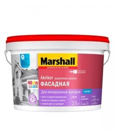 Краска Marshall Akrikor Фасадная (Маршал Акрикор)2,5 л