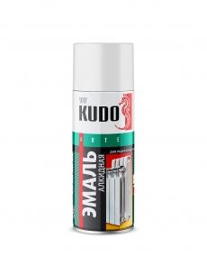Эмаль для радиаторов отопления аэрозольная KUDO белая 520 мл
