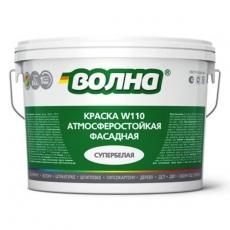Краска фасадная ВДАК-1180 супербелая, Волна, 14 кг