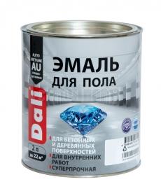 Эмаль для бетонных и деревянных полов алкидно-уретановая RAL 7040 цвет белый, Dali, 2 л