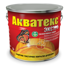 Акватекс ЭКСТРА пропитка полуглянцевая 10 л