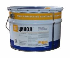 Цинол - грунт антикор быстросохнущий по металлу сереб-серый 25 кг