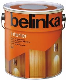 Белинка Интерьер лак для защиты древесины внутри помещений 10 л