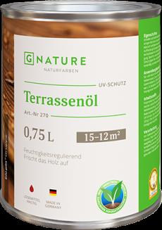 Масло для террас 270 Terrassenöl 2,5 л