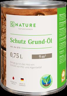 Защитное грунт-масло 870 Schutz Grund-Öl 0,75 л