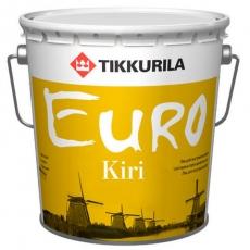Лак для паркета Тиккурила Евро Кири 2,7л