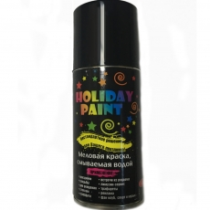 Краска меловая Holiday paint  флуоресцентная аэрозоль 0,21 л