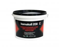 Клей для напольных напольных покрытий, универсальный Homakoll 208 10 л