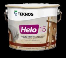 Полиуретановый лак Teknos Helo глянцевый 9 л