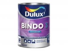 Dulux Bindo 3 краска для стен и потолков водно-дисперсионная белая 1 л