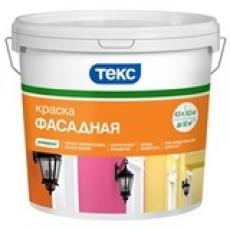 Краска в/д фасадная ТЕКС УНИВЕРСАЛ, 13 кг