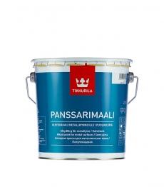 Краска для крыш Tikkurila Panssarimaali (Панссаримаали) полуглянцевая 2,7 л