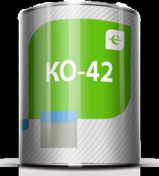 Эмаль КО-42 Церта (KO-42 CERTA) для поверхностей, соприкасающихся с продуктами питания и питьевой водой 38 кг (13кг+ZINC 25кг)