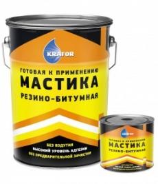 Мастика резино-битумная КРАФОР, 16 кг