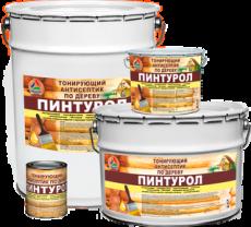 Пинтурол — зимний тонирующий антисептик для древесины 8 кг