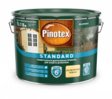 Декоративная пропитка для древесины Pinotex Standard Сосна, 9 л