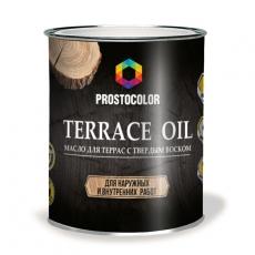 Масло для террас PROSTOCOLOR, 0,75 л