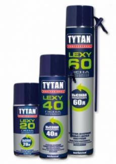 TYTAN Professional Lexy 60 Пена монтажная всесезонная 750мл