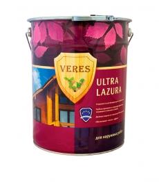 VERES ULTRA LAZURA полуглянцевая лазурь 20 л