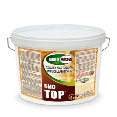 Антисептический состав для защиты торцов древесины WOODMASTER БИОТОР 10 кг