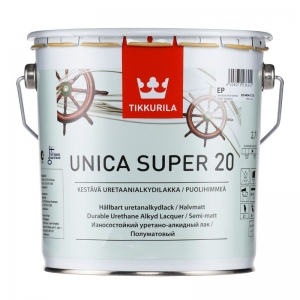 Уника Супер уретано-алкидный лак быстрого высыхания 2,7 л