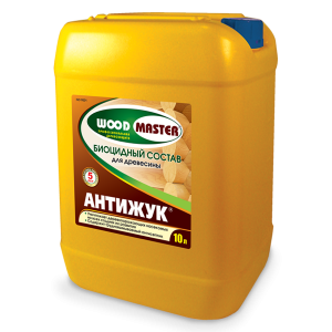 Антижук Биоцидный состав для древесины 10 л бесцветный